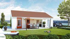 Plan maison neuve à construire - Maisons France Confort Patrimonia ...