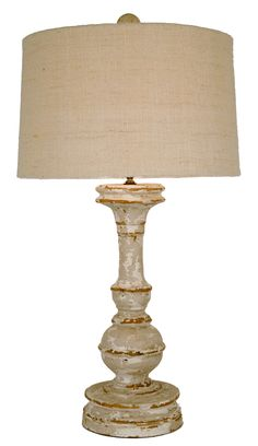 French country table lamp pinterest lamp table lights and neutral paint and showcases a textured natural linen shade ideally suited on a buffet chest or console put this rustic wood lamp with someth aloadofball Images