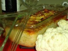 Receita de Bolo de abobrinha e couve-flor - bolo apenas c/ abobrinhas verdes. Revolvi acrescentar a couve-flor e reduzi a quantidade de abobrinhas.Deu super certo, um prato leve e muito...