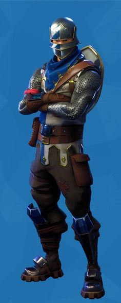 The blue squire
