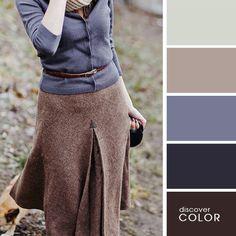 26 идеальных сочетаний цветов в гардеробе