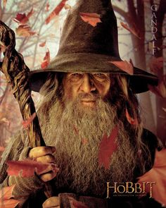 Poster affiche The Hobbit Gandalf 3 40 x 50 cm