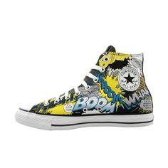 Converse All Star Hi Batman Athletic Shoe - Black/Batman