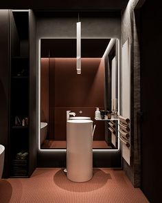 Zoom on kitchen trends 2018 - My Romodel Bathroom Interior, Modern Bathroom, Design Bathroom, Public Bathrooms, Bathroom Toilets, Washroom, Bathroom Vanities, Cute Home Decor, Natural Home Decor