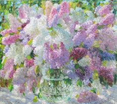 Lilac Bouquet, Flower Art, Still Life, Watercolor, Instagram, Illustration, Artwork, Paintings, Painting Art
