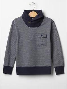 PURCHASED - Gym shawlneck sweatshirt   Gap