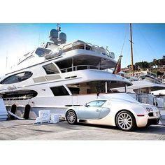 What else? #bugatti #veyron #yachts #luxury #carsighter1 #instagood #cute #photooftheday #follow #picoftheday #like #beautiful #instadaily #followme #tagsforlikes #instamood #bestoftheday #instalike #amazing #carporn #cargramm #supercars #carspotter #spotter#instafamous #supercars #dreamcars #cars #arabcars #follow4follow