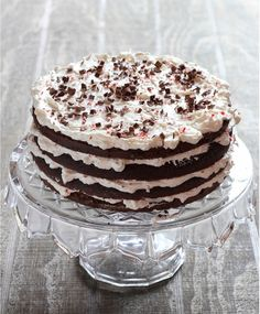 The Italian Dish - Posts - Chocolate Peppermint Cake and How to Make the World's BestFrosting