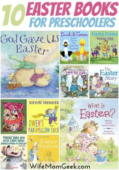 Reading to your children is a great way to teach them about new holidays and traditions. Here are 10 Easter books for preschoolers that you should check out this Easter season.