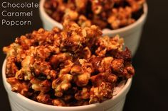 See Sarah Bake: Chocolate Caramel Corn