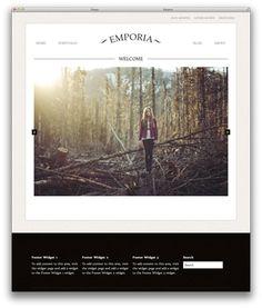 Emporia WordPress theme