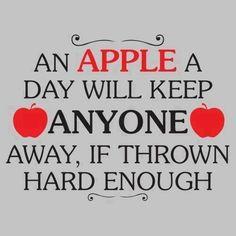 Twitter / TheGoogleImages: An apple a day..... ...