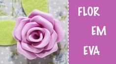 Como Fazer Flor em EVA fácil - Manualidades Foami - Goma EVA - Foam Rose - http://cryptblizz.com/como-se-hace/como-fazer-flor-em-eva-facil-manualidades-foami-goma-eva-foam-rose/