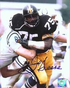 Mean Joe Green..watched the old guys at practice in Latrobe, Pa..every summer.