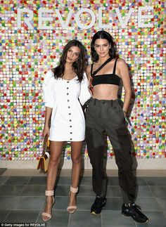 If you've got it! Kendall Jenner turned heads for a very different reason as she took a break from the DJ booth to party with Emily Ratajkowski at the Revolve Festival in La Quinta, California on Saturday