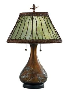 Really gorgeous!  Quoizel Highland Table Lamp
