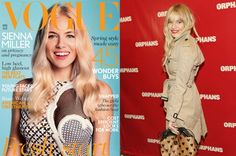 To fringe or not to fringe? : Sienna Miller: A fringe with a statement lip and muted eye is a polished way to do boho – a trend she singlehandedly spearheaded. Though we do love her fresh, fringe-free look too.
