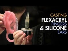 Character Prosthetic Makeup - Casting Flexacryl and Silicone | Stan Winston School of Character Arts