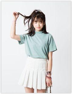 cool Plain Mock-neck Short-Sleeve T-shirt by http://www.redfashiontrends.us/korean-fashion/plain-mock-neck-short-sleeve-t-shirt/