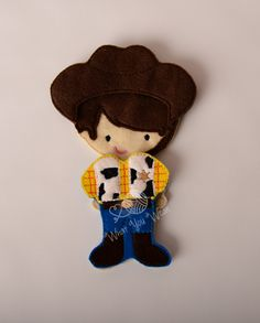 cowboy felt paper doll, iceman prince felt paper doll, pretend play, quiet play, imaginary play, travel toy, felt non paper doll, by LucyandLyla on Etsy