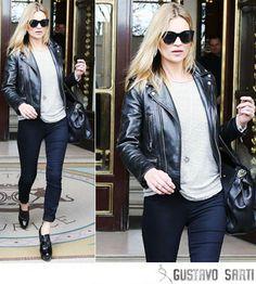 Kate_Moss. Estilo Rocker