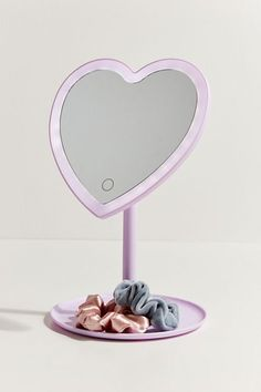 Shop Heartbeat Makeup Vanity Mirror at Urban Outfitters today.