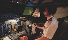 Sky high: who'd be an airline pilot today?