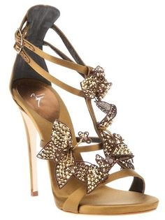 Giuseppe Zanotti - 2014 - Sandals - Shoes - Boots - Heels - Crystal / Sandalias