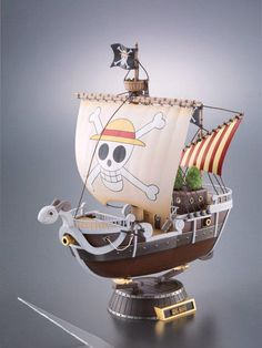 One Piece Going Merry Alloy Figure (4/14)