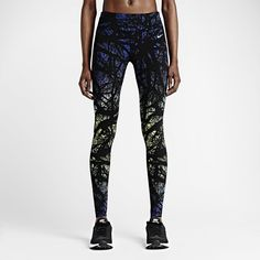 cbb4e7114c6c5 The Nike Printed Engineered Women's Running Tights are made with  tight-fitting Dri-FIT