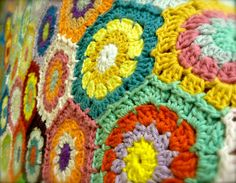Heavenly Hexagons Workshop at Get Knitted www.getknitted.com