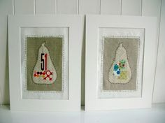 sewing wall art from Tree Fall Designs- featured on Today's Creative Blog