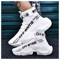 Casual Sneakers, Casual Shoes, High Top Sneakers, Sneakers Nike, Shoes Style, Mens Fashion Shoes, Sneakers Fashion, Skull Fashion, Fashion Outfits