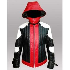 Jason Todd Batman Arkham Knight Red Hood Leather Jacket and Vest