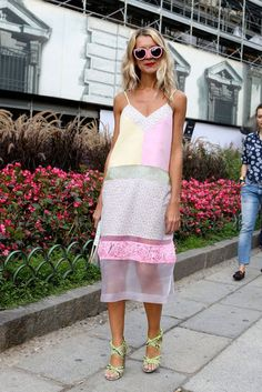 Natalie Joos: Milan Fashion Week Spring 2013