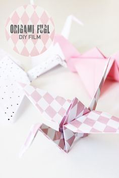 Diy Origami, Cool Stuff, How To Make, Blog, Cool Things, Blogging