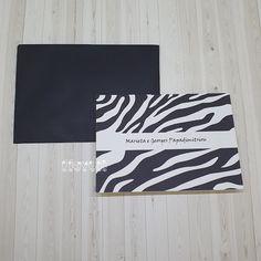 flavoli Papelaria Personalizada: Cartão duplo - Estampa Zebra Party Labels, Bookmarks, Personalized Stationery, Block Prints, Craft