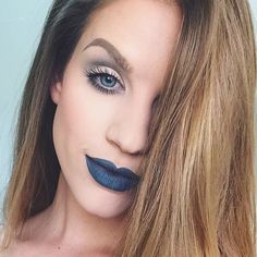 Karin Dragos || Grungy-ish Makeup. Karin Dragos, Septum Ring, Brows, Instagram Posts, Beauty, Jewelry, Eyebrows, Eye Brows, Jewlery