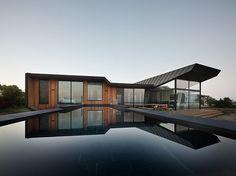 House 6 by BKK Architects located on the semi-desert coast of Australia's Western Port Bay.