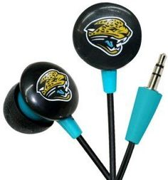 Jacksonville Jaguars Ear Buds by iHip. $9.99. These earphones from iHip provide professional-quality audio and excellent noise isolation in a small and lightweight design. The earphones use dedicated woofer and tweeter drivers with an in-line crossover to deliver precise high-end, natural mid range, and full bass with terrific clarity and detail. 3.5mm stereo mini plug for wide compatibility. The earphones fits snugly in the ear for a comfortable, stable fit. An a...