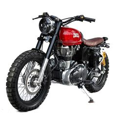 of our coolest build, simply but very mature., We suggest this model if you want to convert your classic Royal Enfield to… Brat Motorcycle, Motorcycle Workshop, Enfield Motorcycle, Motorcycle Types, Classic Motorcycle, Scrambler Custom, Custom Motorcycles, Custom Bikes, Classic 350 Royal Enfield