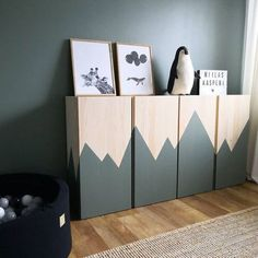 10 ways to hack the Ikea Ivar cabinet into something special for the kids room Nursery Furniture, Ikea Furniture, Baby Zimmer Ikea, Ikea Kids Bedroom, Casa Kids, Ideas Habitaciones, Home Decoracion, Shared Rooms, Kids Room Design