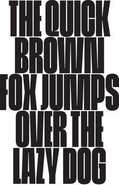 Cinderblock Typeface - Kjartansson