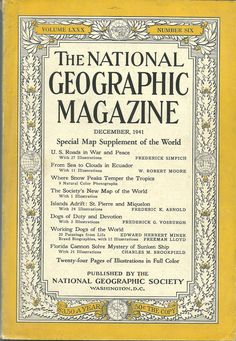 #ad National Geographic December 1941 Just 99 Cents!! http://rover.ebay.com/rover/1/711-53200-19255-0/1?ff3=2&toolid=10039&campid=5337950191&item=132572988053&vectorid=229466&lgeo=1