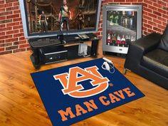 "Man Cave All-Star Rug (34""x45"") - Auburn University"