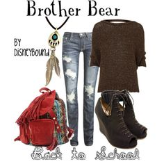 Disney Clothes - brother bear, love the knapsack