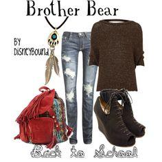 Disney Clothes - brother bear, love the knapsack