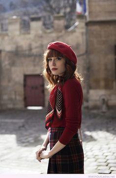 Lovely red teacher look inspiration