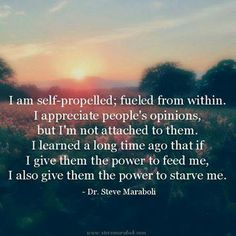 I am self-propelled