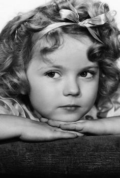 Shirley Temple, 1934.  A cild star that did good things--god bless her